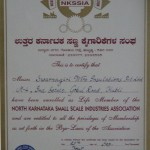 North Karnataka Small Scale Industries Association Member